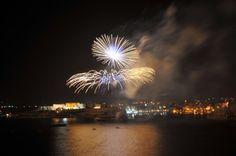 vuurwerk show in valletta
