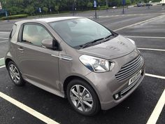 Aston Martin Cygnet Side View, via Flickr.
