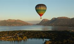 Hot air ballooning over the Hartbeespoort Dam Air Balloon Rides, Hot Air Balloon, Air Ballon, Places To Travel, Places To See, Travel Pics, Travel Ideas, North West Province, South Africa