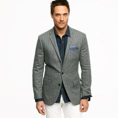 Cashmere sportcoat in Ludlow fit - sportcoats & outerwear - Men's the liquor store - J.Crew
