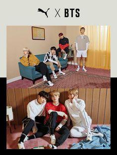 BTS X Puma Turin global collaboration Hoseok, Seokjin, Namjoon, Taehyung, Bts Bangtan Boy, Bts Boys, Jimin, Photo Sketch, Teen Life
