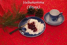 Scandinavian Today Cooking Show: Danish Christmas Rice Pudding with cherry sauce