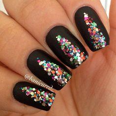 Beautiful Xmas Nail Art ❤