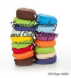 Formula Feeding and Cloth Diapers (They go together better than you think!) - Cloth Diaper Addicts