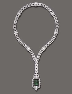 Tiffany & Co. necklace ca. 1925 via Christie's