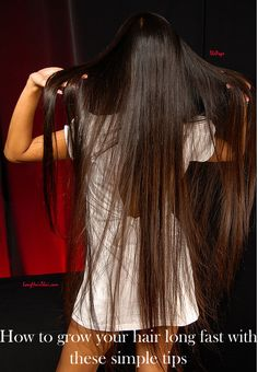 how to grow your hair long fast for women