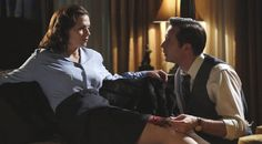 Hayley Atwell and James D'Arcy in AGENT CARTER « Nerdist