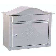 Architectural Mailboxes Peninsula Wall Mailbox, Satin Nickel Embossed by Architectural Mailboxes. Save 31 Off!. $156.03. This flagship design embodies Old World charm with over 14 pounds of solid brass construction hand finished in Satin Nickel. The large slot and spacious locking storage compartment provide convenience and security. The access door is embossed with an eleg