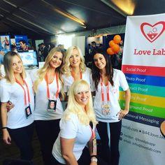 Stop by the @lovelabapp at #techweek and say hello!