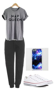 """""""Stay at home"""" by maribeltheflower on Polyvore featuring adidas Originals and Converse"""