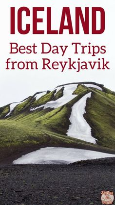 Iceland Travel Guide – Find out the best Iceland day tours out of Reykjavik – the most scenic itineraries, activities to see wildlife or the Northern lights and your options for Winter   Iceland Travel Tips   Iceland Trip   Iceland Things to do
