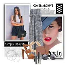 """Sheinside #8"" by olga05 ❤ liked on Polyvore featuring Kenneth Jay Lane, Steve Madden, Michael Kors, Wood Wood and Bobbi Brown Cosmetics"
