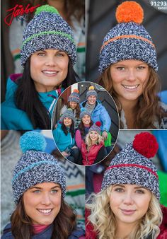 Wonderful knitted hats. Just pick your color!
