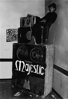 Syd Shelton - Majestic Sounds, Leeds, 1978.
