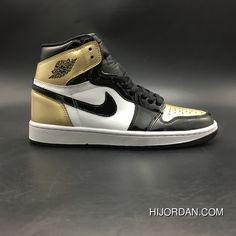 b5a386fc2ba49a AJ1 Air Jordan 1 Top 3 861428-001 Men Black Best