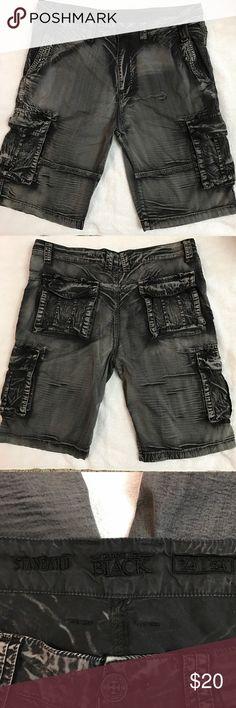 Buckle Black Men's Cargo Shorts Used. Buckle Black Shorts Cargo