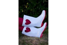 Juliet Gumboots (Cut-out heart)Please specify size and colour:Size: Ladies 3 - 7 Girly, Lady, Shoes, Color, Winter, Women's, Winter Time, Zapatos, Girly Girl