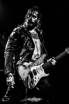 Selim Lemouchi of The Devil's Blood - Dutch Occult Rock Band - Selim Lemouchi…