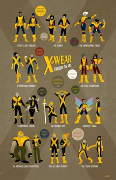 X-WEAR THROUGH THE AGES