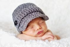 Photo Props Baby Boy Hat - dawanda.com