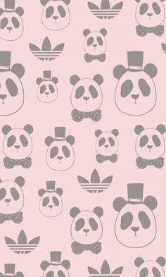 Wallpaper Adidas panda