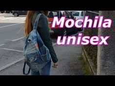 Mochila jeans feita de calça - YouTube