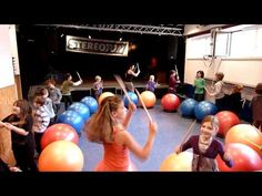Franziska Fähle Master-Instructor Drums Alive Kids Beats - YouTube