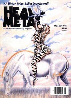 Heavy Metal Magazine - October 1985