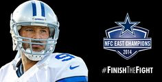 The Cowboys have clinched the NFC East! #FinishTheFight