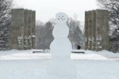 Virginia Tech - Hokies - Snowman 2/17/14