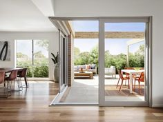 Boutique Aluminium Corner Sliding Doors - A&L Windows and Doors » A&L Windows