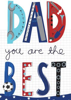 Ric-Rac: Happy Fathers day to all dad's!
