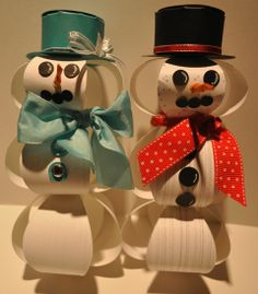 Thanks to my friend Anne Pavlosky for this wonderful inspiration. I made my Mr & Mrs Snowman using the Gift Bow Bigz Die. Gift Bows, Stamping Up, Snowman, Thankful, Christmas Ornaments, Holiday Decor, Cute, Gifts, Inspiration
