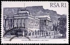 """""""parliament house on postage stamp"""""""