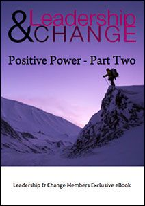 """Do you want to have more impact? Part Two of my series explores what the """"Positive Mindset of Possibilities"""" entails - compared to conventional thinking. This is how you start to expand the difference you make. What do you think? https://www.leadershipandchangemagazine.com/positive-power-overview-part-two/"""