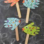 Pesciolini con perline colorate