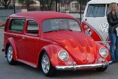 Vw beetle van