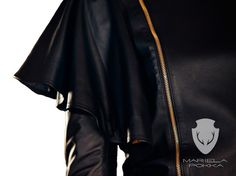 - Mariela Pokka - luxury fashion made of reindeer leather Classic Collection, Reindeer, Evening Dresses, Luxury Fashion, Bomber Jacket, Trousers, Leather, Jackets, Shirts