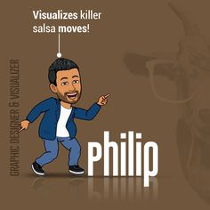 Philip, the incredible Graphic Designer and Visualiser👨🏻💻 of Team Tyche, is a big fan of classic English songs. And more than a fan he is for the songs, we've become a fan of his crazy, killer moves🕺🏽! A salsa teacher on weekends and an amazing Graphic Designer/Visualizer on weekdays, we can anytime vouch for the fact that - 'Our visualizer is better than yours!!!😏'  #digitalmarketingagency #digitalmarketing #media #visualizer #graphicdesigner #socialmediamarketing #branding…