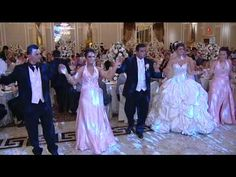 Madrit & Ajshe Kurtishi's Wedding Valle- Bride & Groom with Bridesmaids & Ushers. Wedding Music, Dream Wedding, Albanian Wedding, Bridesmaid Dresses, Wedding Dresses, Traditional Dresses, Insta Makeup, Makeup Junkie, Bride Groom