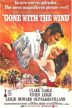 Gone With the Wind Directed by Victor Fleming Produced by David O. Selznick Based on by Margaret Mitchell Starring Clark Gable Vivien Leigh Leslie Howard Olivia de Havilland Thomas Mitchell Iconic Movie Posters, Original Movie Posters, Movie Poster Art, Iconic Movies, Old Movies, Vintage Movies, Vintage Movie Posters, Margaret Mitchell, Metro Goldwyn Mayer