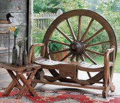wagon bench