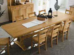 Tavolo da pranzo rettangolare in legno EVERY DAY | Tavolo rettangolare by Callesella Arredamenti