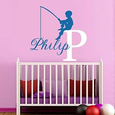 Vinyl Wall Decal Customize Name Boys Kids Wall Decal Personalized Name Wall Art Nursery Decor Sticker KW-113