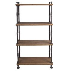 Wisteria - Furniture - Shop by Category - Cabinets & Bookcases - French Shopkeeper's Shelves Thumbnail 3