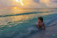 Golden 2nd Birthday on Passagrille Beach, Fl. Katogenic Photography