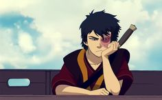 Impatient Zuko is to Adorable Zuko as Fangirl is to Fictional-Boy
