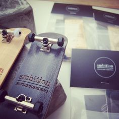 """""""Have you checked out our #fingerboards at @woodenboards and #gosports #scape yet? #ambition #fingerboarding #singapore #store"""""""