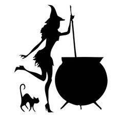 A 825-Witches Express Witch Witches Sticker Witch Sticker Car Sticker