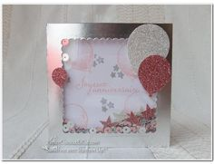 PapierCiseauxEtCie Stampin Up Sandrine Shaker card Anniversaire Birthday Plus